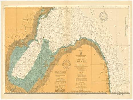 Amazon.com: Vintography Reprinted 8 x 12 Nautical Map of ... on frisco bay map, missouri bay map, saginaw michigan, toledo bay map, dover bay map, farmington bay map, saginaw county, south bay map, buffalo bay map, mesquite bay map, saginaw police, bay county map, chicago map, bay bay map, isabella bay map, bay city map, standish mi map, columbia bay map, saco bay map, saginaw river,