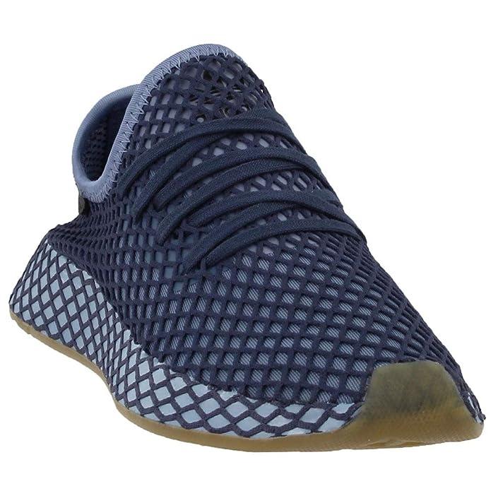 6e60c6e730f adidas Boys Deerupt Runner Junior Casual Sneakers,