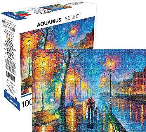 Aquarius Melody of the Night Jigsaw Puzzle (1000 Piece), Multicolor