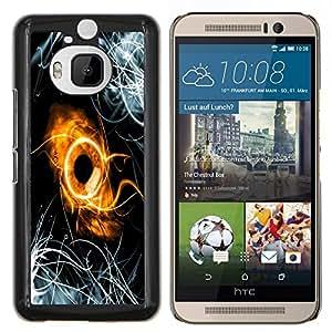 EJOOY---Cubierta de la caja de protección para la piel dura ** HTC One M9Plus M9+ M9 Plus ** --Resumen Anillo