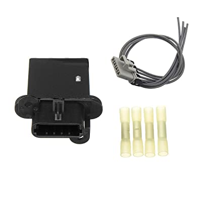 973-582 HVAC Fan Blower Motor Resistor w/Wire Harness for 2005-2020 Toyota Tacoma, Replace#4P1650, JA1772, RU1435, RU746, 8713804050, 8713804052: Automotive