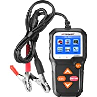 KONNWEI Car Battery Tester 12V Car Auto Battery Load Tester on Cranking System and Charging System Scan Tool Battery…