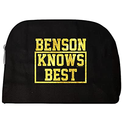 Benson Knows Best. Cool Gift Idea For Friends - Cosmetic Case