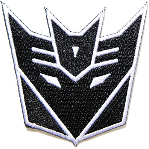 Transformers Decepticon Autobot Moive Logo Kid Baby Jacket T Shirt Patch Sew Iron on Embroidered Symbol Badge Cloth Sign Costum By Prinya Shop
