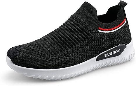 CNBKMG Calcetines Zapatillas De Running para Mujer Zapatos Planos ...