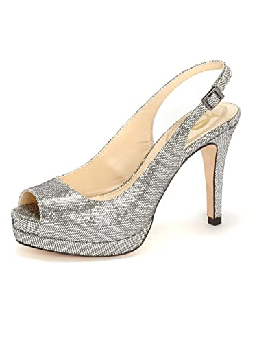 1722ad990 Amazon.com | Vince Camuto SIGNATURE OLLIE Pump PEWTER | Pumps