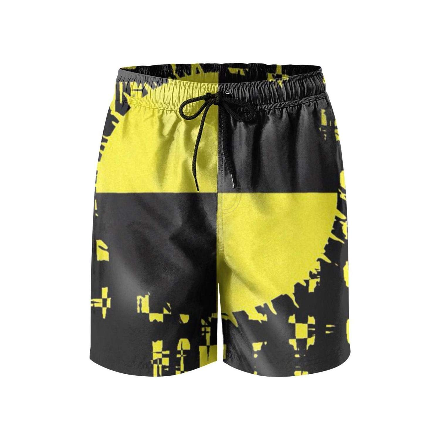 Mens Beach Shorts Design Music Surfing Shorts Jogging Vacation Quick Dry