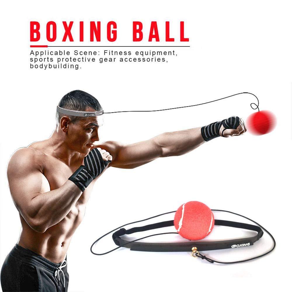 Volwco - Balón de Boxeo con Banda Ajustable para la Cabeza para ...