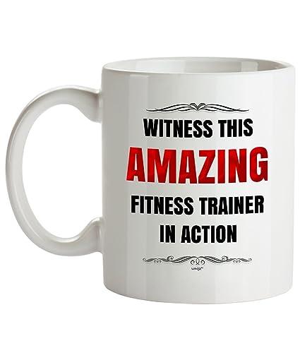 Amazon Fitness Trainer Coffee Mug