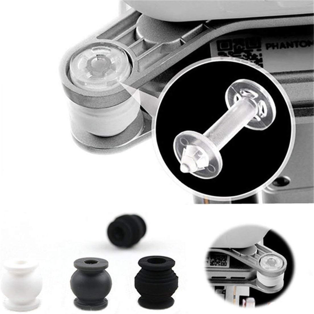 Boules en caoutchouc damortissement dabsorption de choc de cam/éra Kit anti-chute pour DJI Phantom 3 Standard Professional AdvancedWhite//Transparent