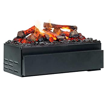 DIMPLEX Cassette Juneau XL Built-in Fireplace Eléctrico Negro Interior - Chimenea (230 V, 50 Hz, 400 W, 400 W, 400 W, 720 mm): Amazon.es: Hogar