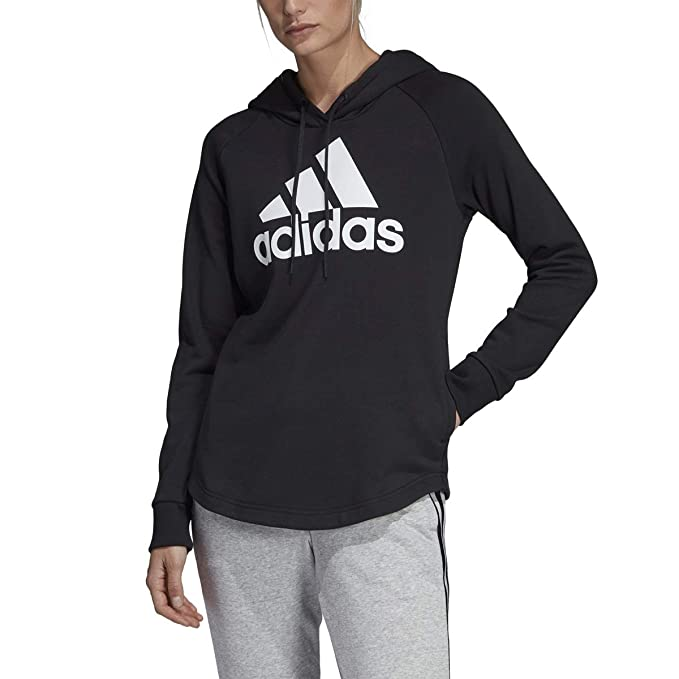 c96ec6a663c6f9 Adidas Must Haves Badge of Sport Hoodie Women's Training 2XS Black-White:  Amazon.ca: Clothing & Accessories
