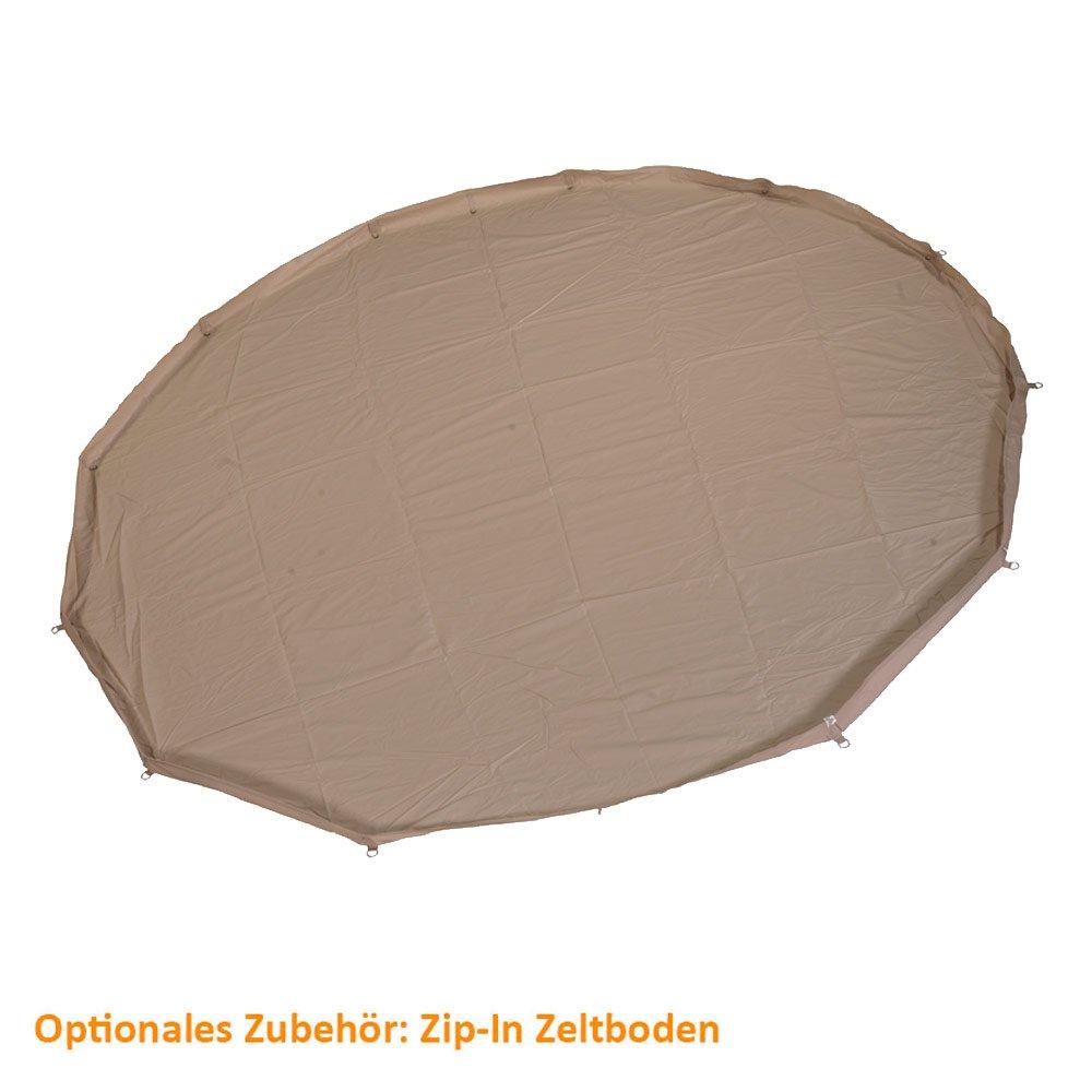 Nordisk Asgard 12.6 m² Zelt Zip-in Floor natural 2018 Zelt m² Zubehör 125a86