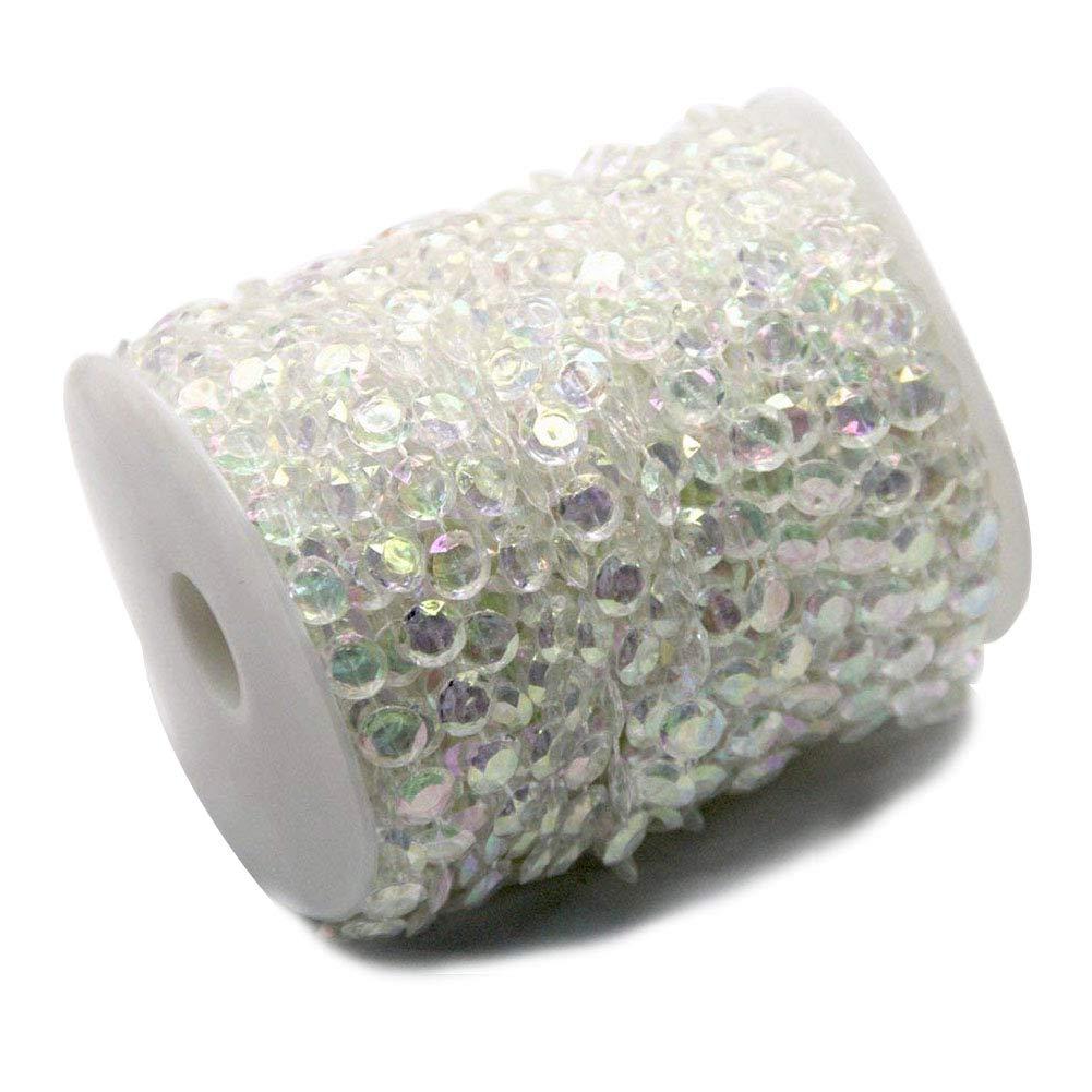 Colored Ewparts 30M Branelli acrilici del Diamante della Ghirlanda di Cristallo