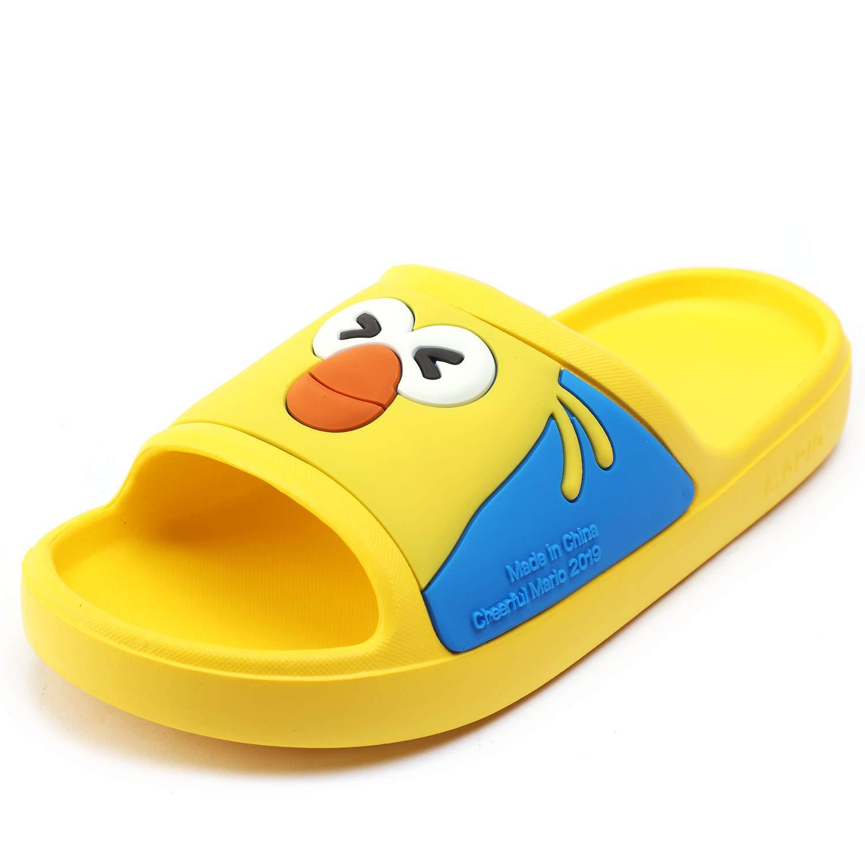UBELLA Boys Girls Cartoon Summer Beach Pool Bath Slippers Anti-Slip Slide Sandals