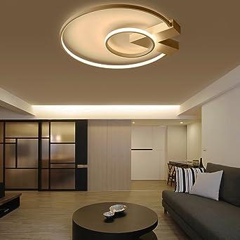 Bekannt Modern LED 2 Ring Deckenleuchte Ultraslim Design Deckenlampe FR58