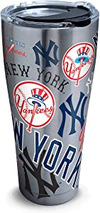 Tervis 30 oz. Stainless Steel Yankees Tumbler Tervis One Size