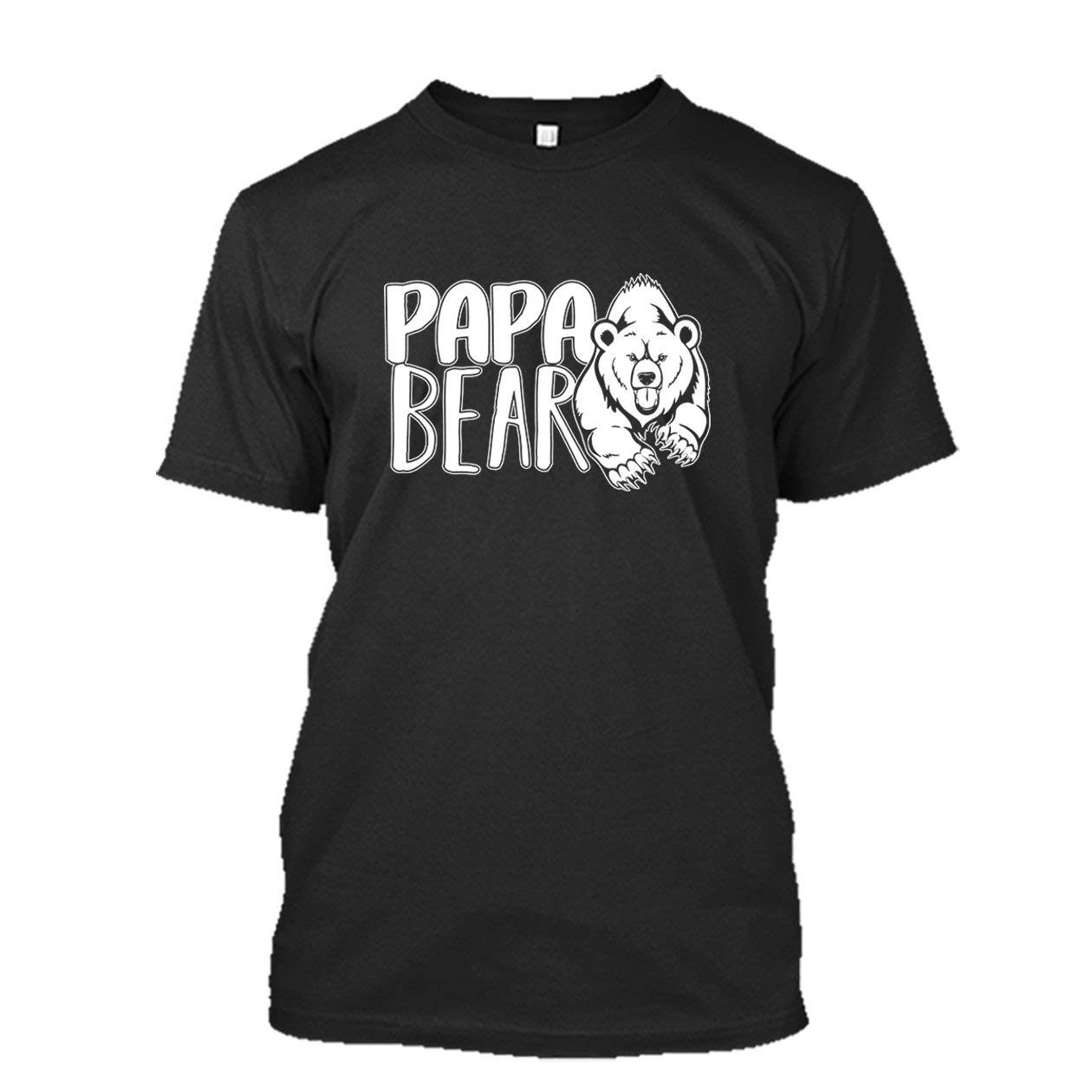 Papa Bear Shirt, Unisex Short Sleeve Tee, Clothes