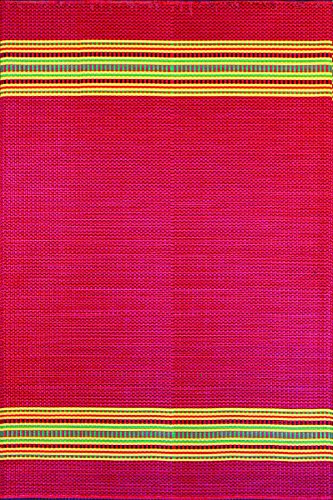 Cheap  Mad Mats® Serape Indoor/Outdoor Floor Mat, 4 by 6-Feet, Dark Red