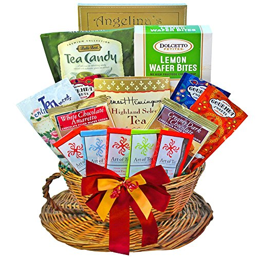 You're My Cup of Tea Gourmet Snacks Gift Basket (British Gift Basket)