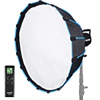 Godox SL60W Kit with Soft Box Softbox (Special Design for SL-60W) 5600K Studio Continuous LED Video Light Lamp 5600K…
