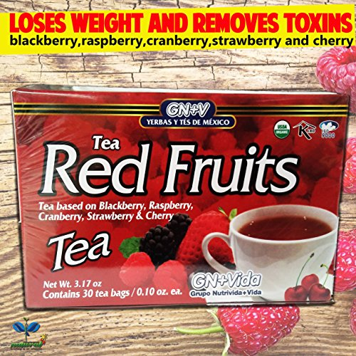 Tea Forest Fruits Immune System Support - With 100% Natur...