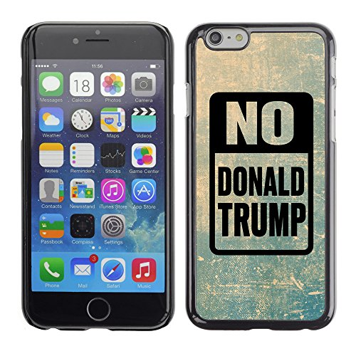 Print Motif Coque de protection Case Cover // Q04150512 Arrêtez Trump grunge // Apple iPhone 6 6S 6G 4.7""