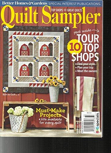 Sampler Magazine - QUILT SAMPLER MAGAZINE, TOP SHOP + GREAT QUILTS FALL / WINTER, 2017