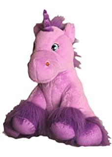 5cec7e68201 Purple Unicorn with Sparkly Hooves Teddy Bear 16