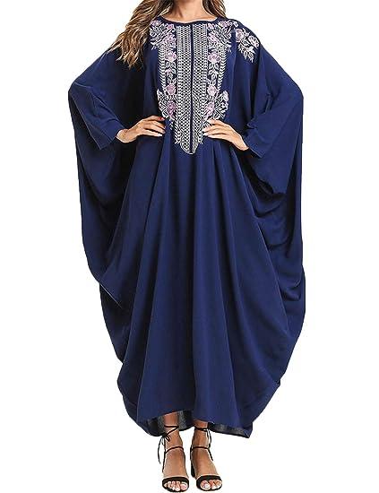 Qianliniuinc Vestidos Musulmana Abaya Dubai Elegante - Arabe ...