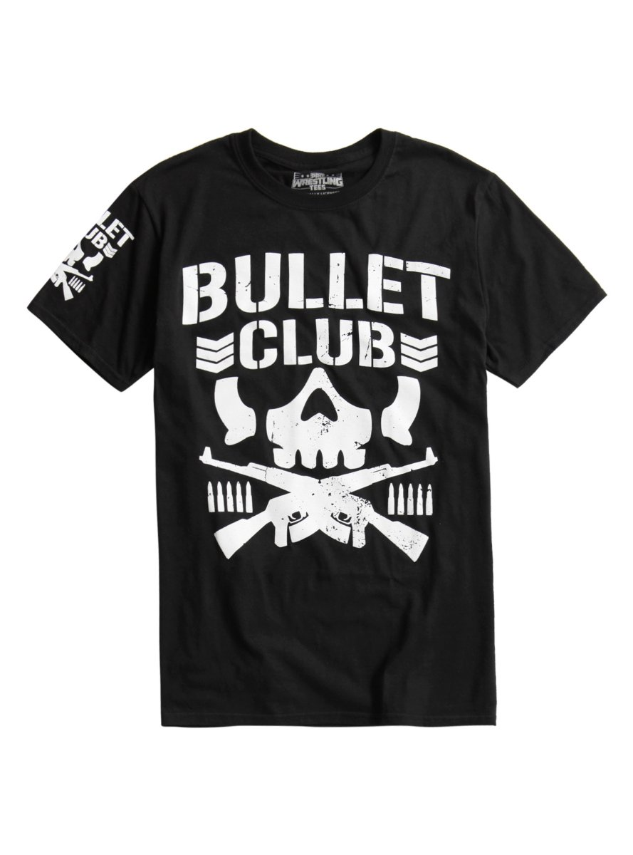 New Japan Pro-Wrestling Bullet Club Logo T-Shirt by Hot Topic