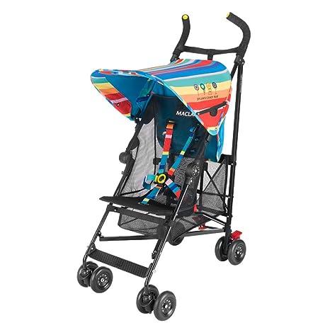Maclaren Volo Dylans Candy Bar Silla de paseo - ligera, de los 6 meses hasta los 25 kg, suspensión en las 4 ruedas, Capota extensible con UPF 50+