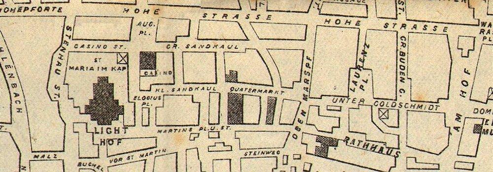 BARKING: Ancient Bell tower, Barking Abbey, antique print 1888 Antiqua Print Gallery