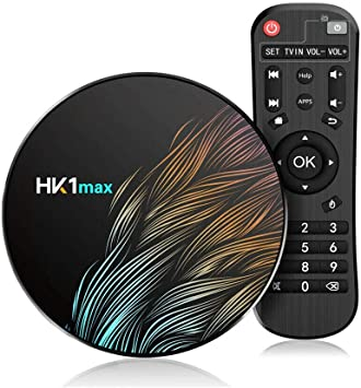 All Shop HK1 MAX Smart TV Box Android 9.0 4GB RAM + 64GB ROM Quad-Core 4K Ultra HD WiFi Streaming Video Online: Amazon.es: Electrónica