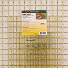 Dritz Omnigrid Ruler Value-Pack 1-Package of Four