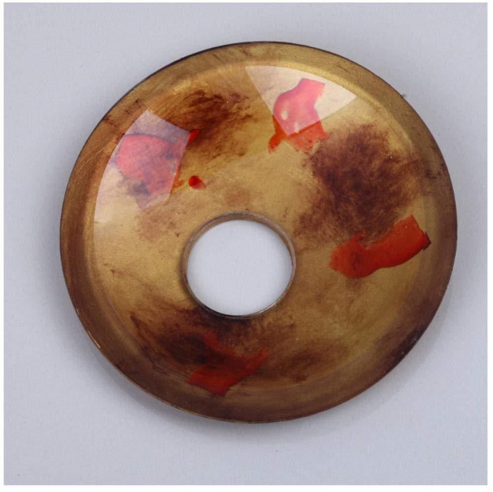 Scarico per lavabo Lavabo Combina Miscelatore rubinetto in ottone Zybnb Lavandino del bagno in stile etnico Lavabo Lavabo in vetro dipinto a mano Rubinetto per lavabo