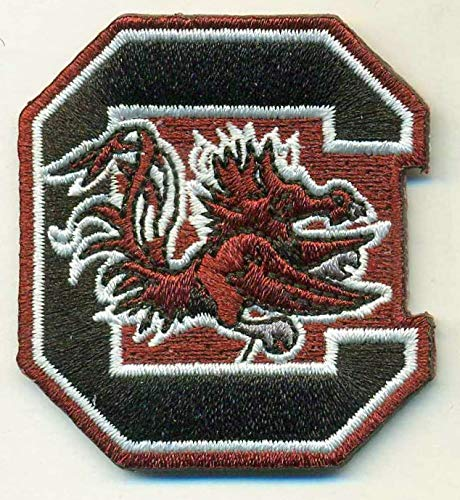 (SOUTH CAROLINA GAMECOCKS IRON ON EMBROIDERED EMBROIDERY PATCH PATCHES SCHOOL OF UNIVERSITY STATE COLLEGE NCAA FOOTBALL)