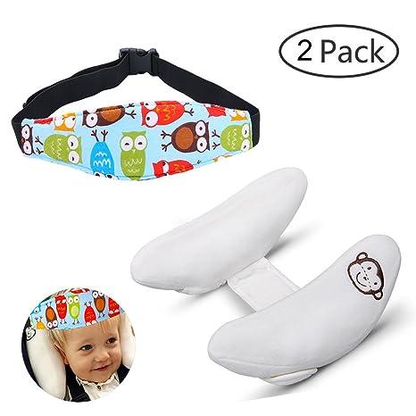 Niño ajustable ayuda del cuello almohada y Seguridad de la banda soporte de la cabeza para ...
