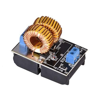 iBaste_Bobina de Calentamiento 5-12V de inducción de la fuente de alimentación de calefacción de