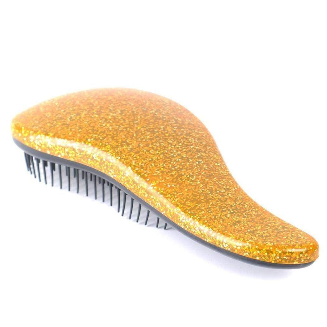 T manico portatile Cura dei capelli antistatica massaggio pettine Hair Styling Tools Riklos