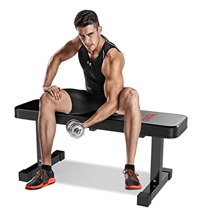 Superb Yoleo Flat Weight Bench 700 Lbs Capacity Utility Exercise Bench For Weight Strength Training Sit Up Abs Fitness Bench For Full Body Workout Of Home Camellatalisay Diy Chair Ideas Camellatalisaycom