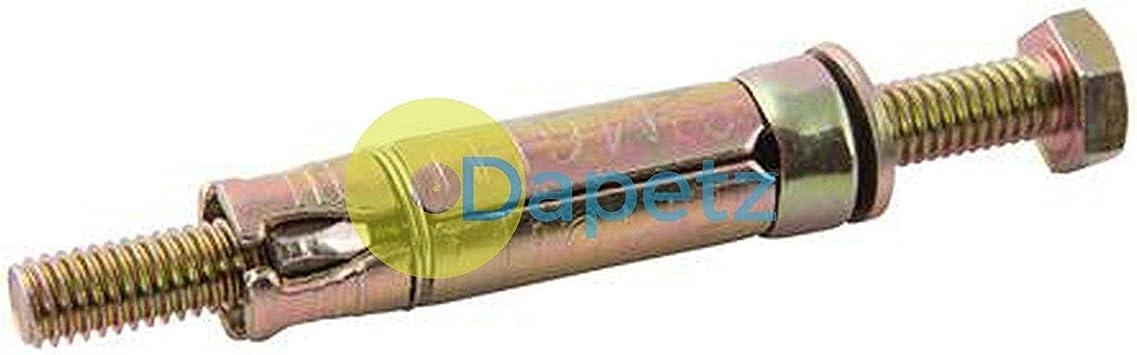 béton Fixation Murale Pack De 4 * Top Qualité Grâce à des boulons M10 x 120 mm BRICK