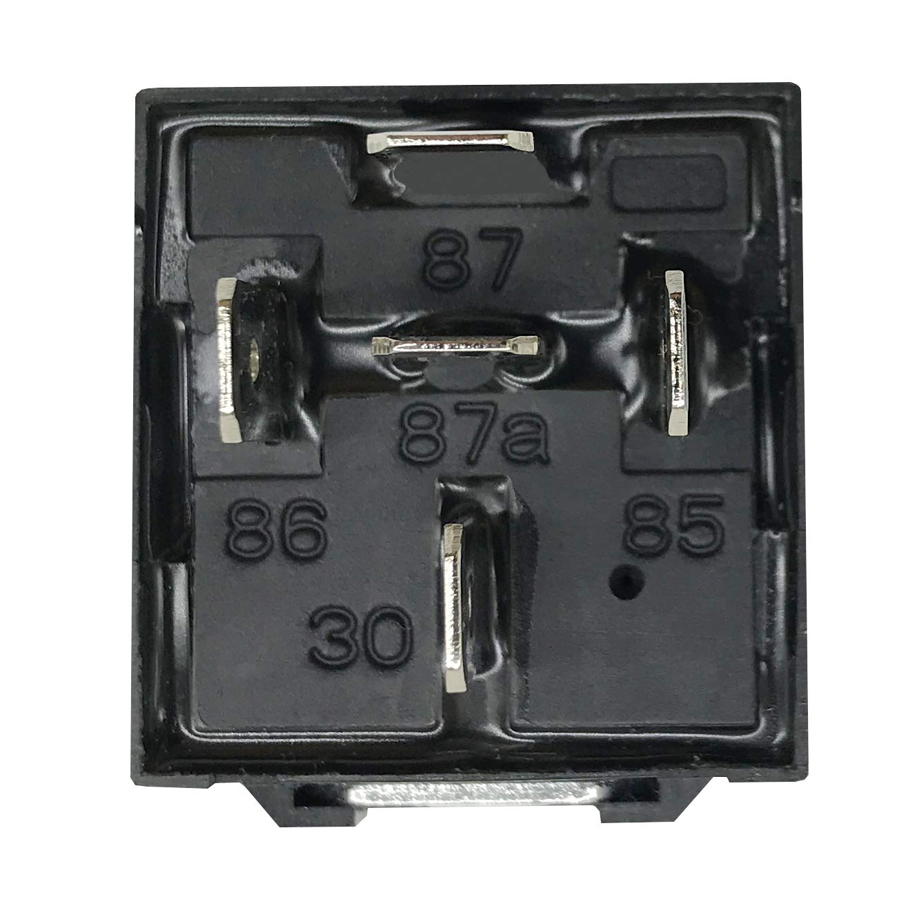 12 Pack 40//30 AMP 5 Pin SPDT 12 V DC Bosch Style Relay Switch for Electrical Automotive Truck Marine Boat No Relay Socket and Wiring Harness