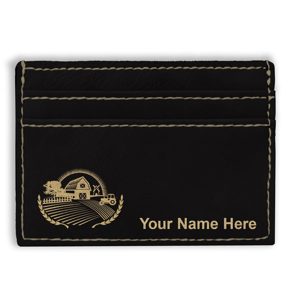 Money Clip Wallet Farm Personalized Engraving Included