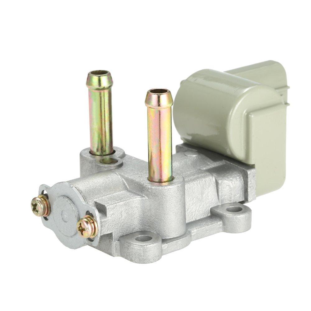V/álvula de Control de Aire de ralent/í de inyecci/ón de Combustible IACV IAC para Honda Civic CX DX EX HX LX GX 1.6L SOHC