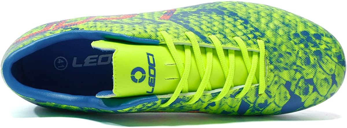 Men and Boy Athletic Soccer Cleat LEOCI Performance Soccer Shoes