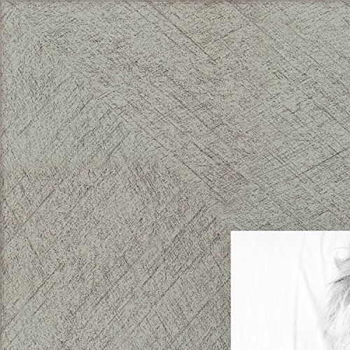 ArtToFrames 18x18 inch Metallic Deco Silver Picture Frame, 2WOM0066-20277-YSLV-18x18