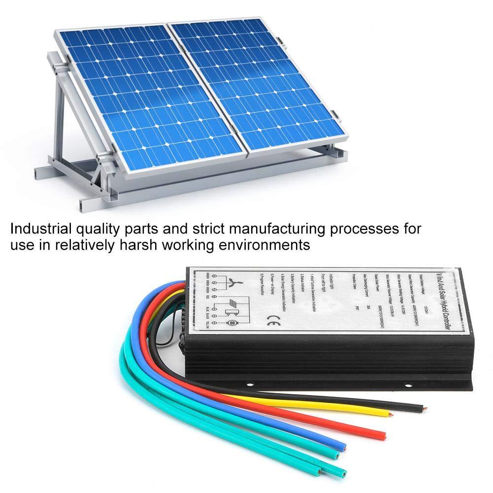 24V 400 800W Regolatore intelligente per carica solare eolica Regolatore intelligente per turbine eoliche e pannelli solari Regolatore ibrido solare e eolico 12