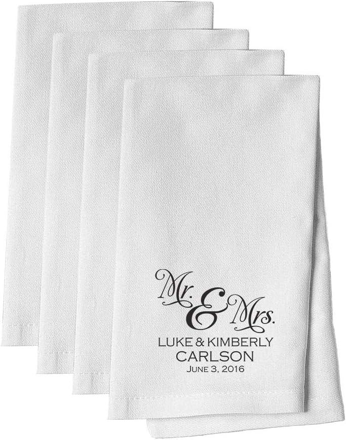 White Fabric Napkin Set of 10