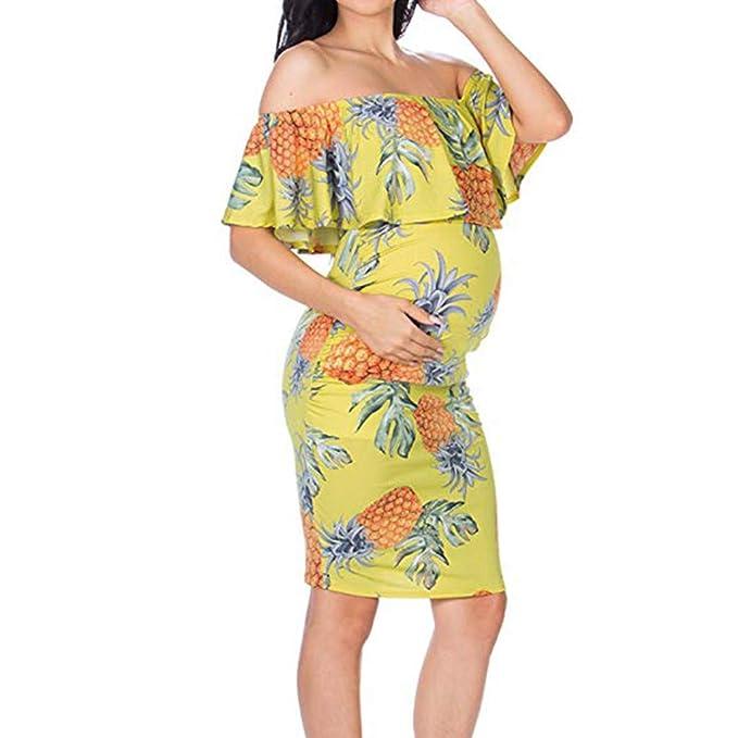 Y56 Womens Maternity Long Sleeve Floral Striped Nursing Top T-Shirt for Breastfeeding TM